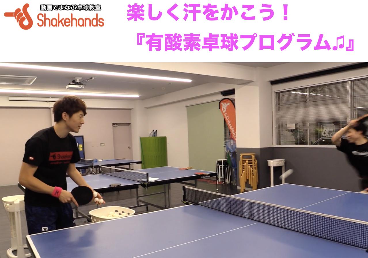 2/15(土)【効果抜群!】有酸素運動 × 卓球!
