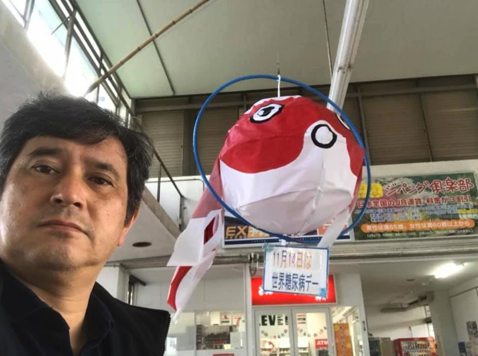 あえて一番時間のかかるローカル線各駅停車で生まれ故郷の柳井市に来ました