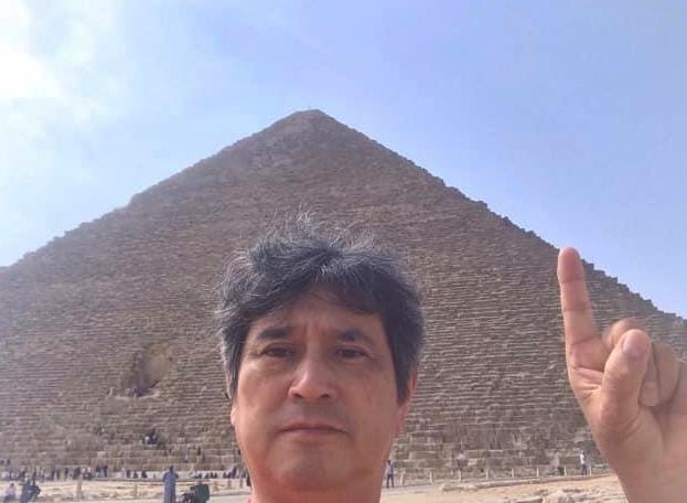 4月末には、念願のエジプト・カイロへ