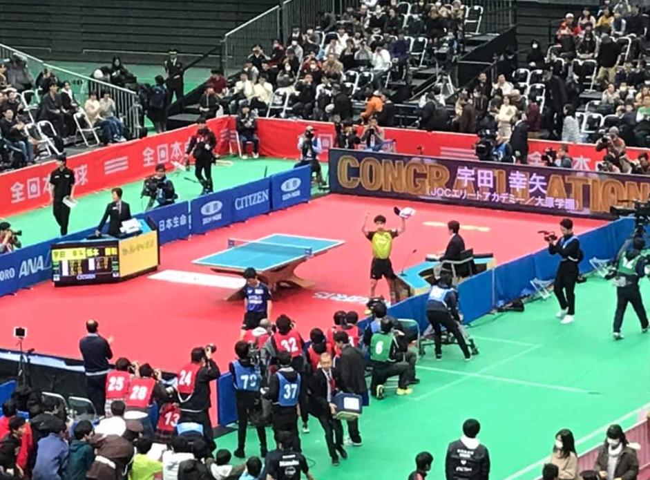日本で一番恐ろしいスポーツ!卓球