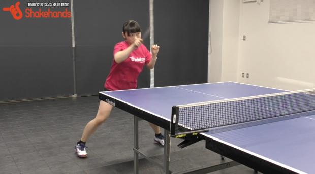 【卓球女子】試合で勝つ!ミスを激減させる安定したフォアハンド!by小野寺咲和_表紙