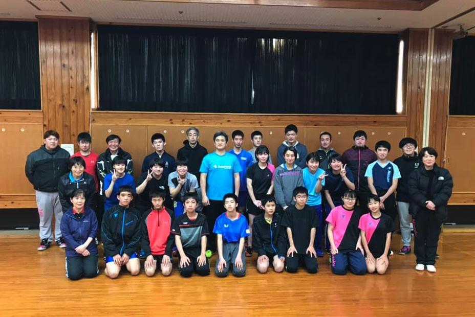宮崎県卓球協会の講習会はカットマンに絞って開催