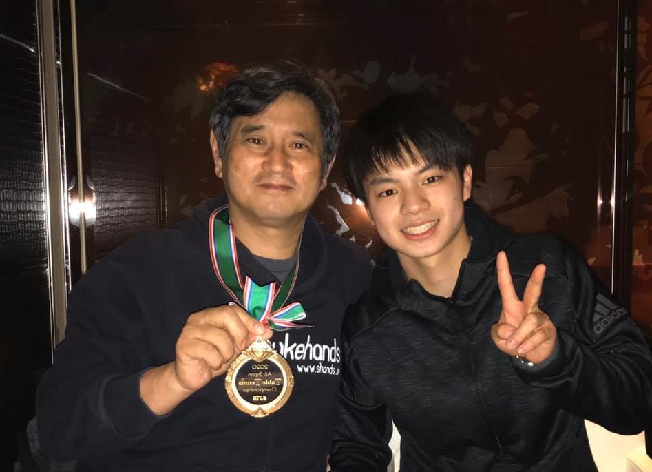 全日本シングルス優勝を美味しい肉を食べてお祝いしました