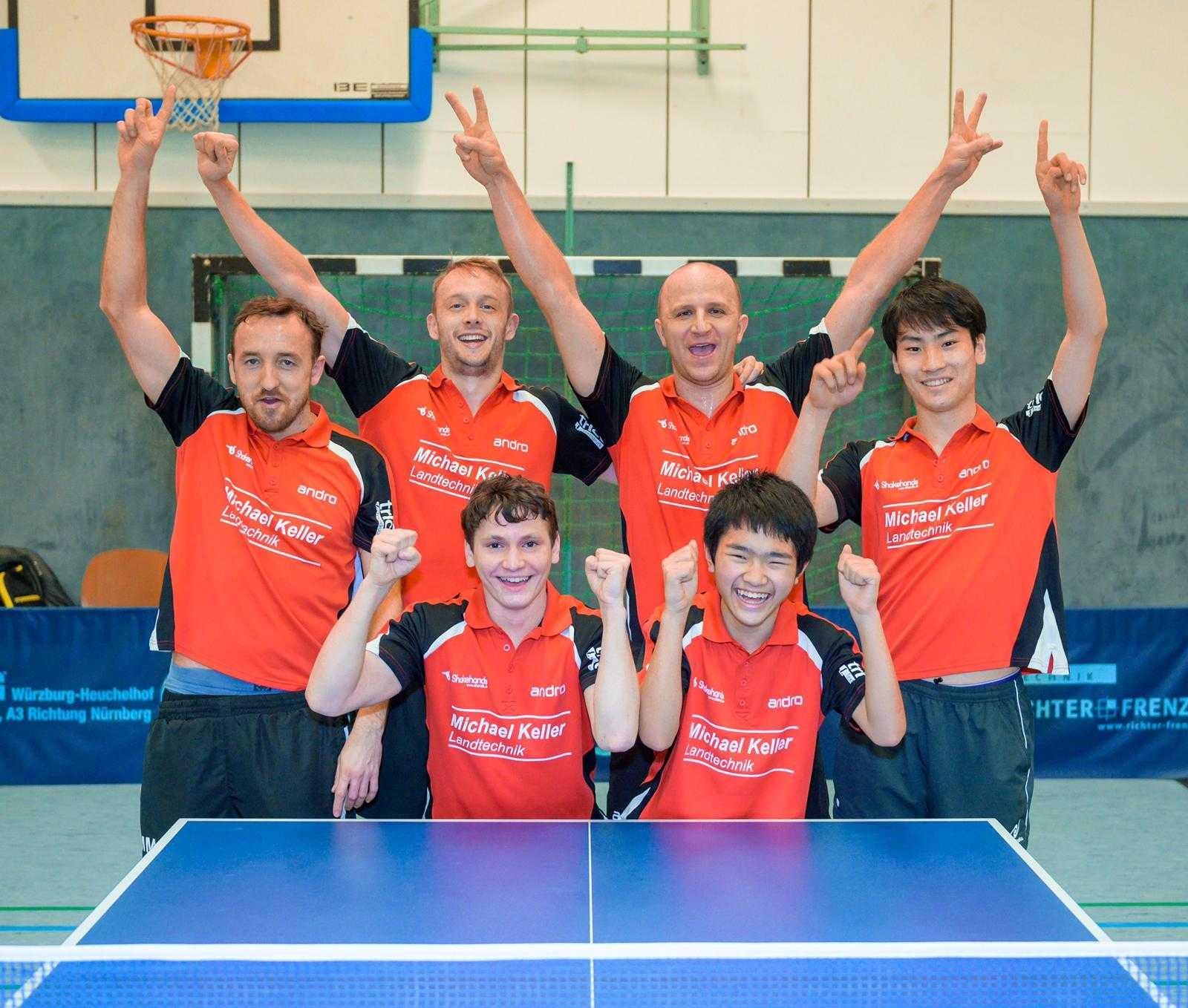 第2チームがオーバーリーガで優勝!!村上選手が単複3勝で貢献!