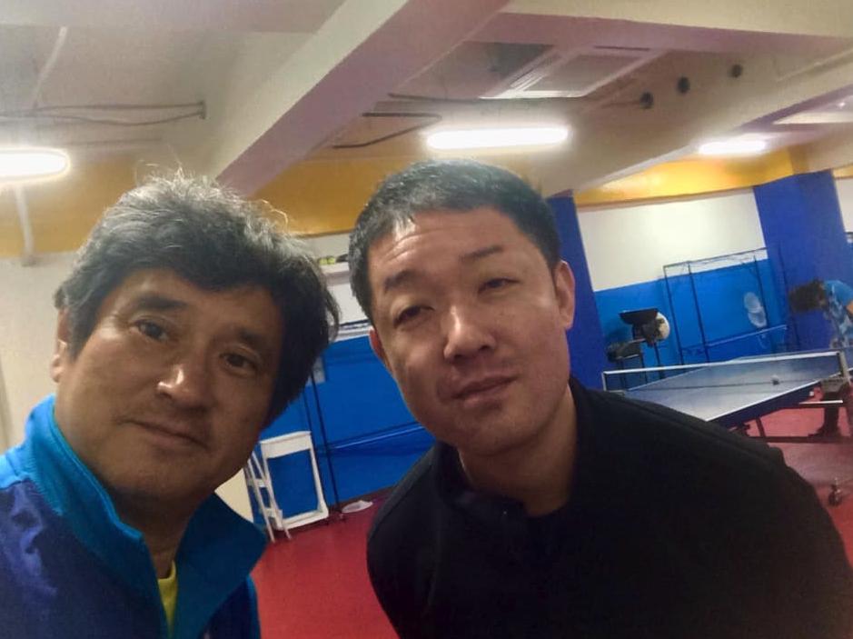 卓球場【MI青春卓球 CLUB】オーナーの菅野さんのご好意