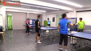 ツッツキ!中国選手も苦慮する張本選手のツッツキby平岡義博