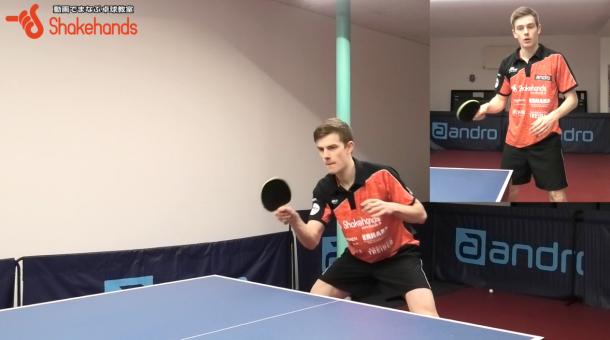 【イケメンすぎる卓球プレーヤー】爆発的なフォアハンドが魅力、キリアンが登場!@ドイツ