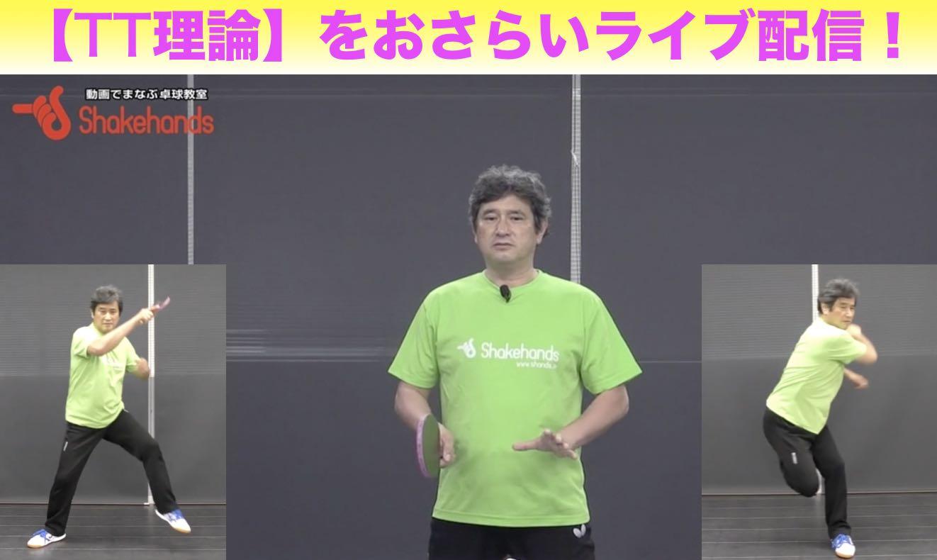 【ライブ配信】6/5(金)21:30〜平岡理論おさらいシリーズ『TT理論』
