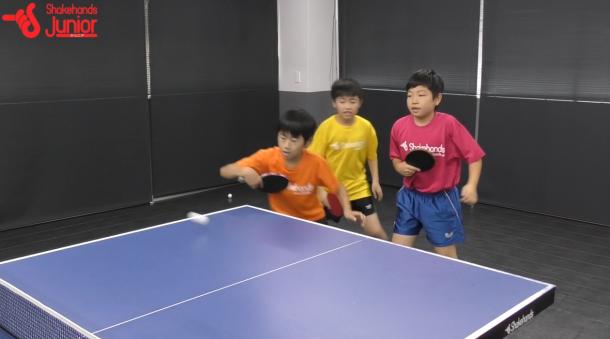 【平岡義博の3人多球練習】フォア側をバックで攻撃!_表紙