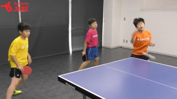 【平岡義博の3人多球練習】大きなラリーをフォアで得点!_表紙