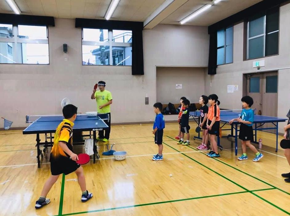 卓球現場で子供たちに接するのが 一番楽しい