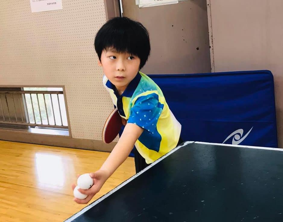 1時間をかけて 【巻き込みサービス】だけを卓球練習