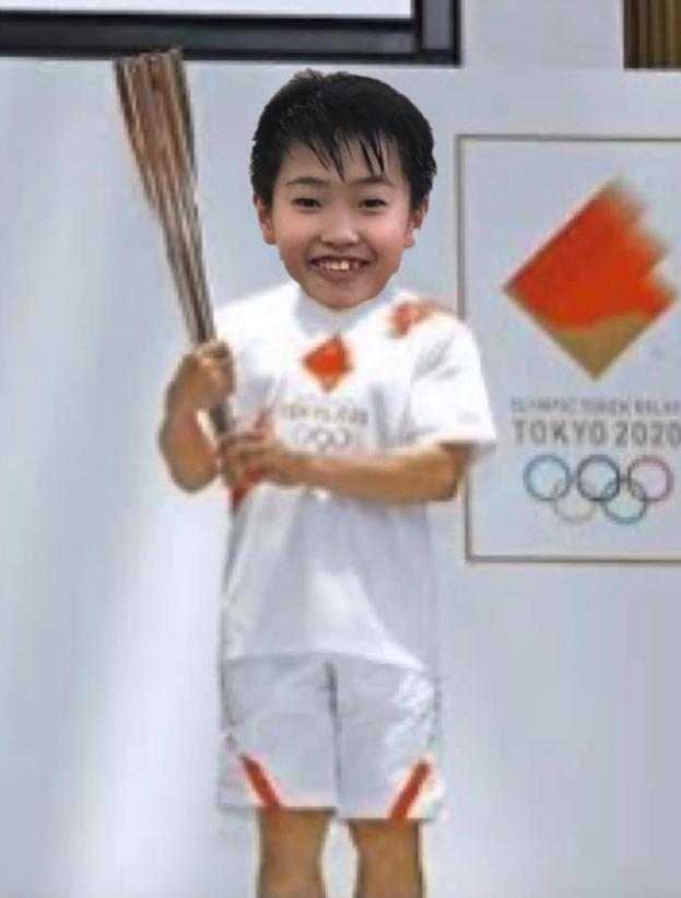 志村けんが聖火ランナーを務めた後、聖火ランナーとして走るはずだった松本來斗