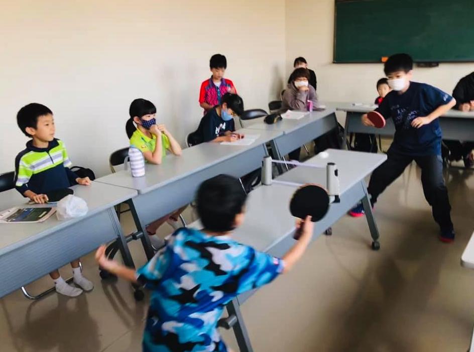 ジュニア卓球教室の子供たちの練習量を増やしたい