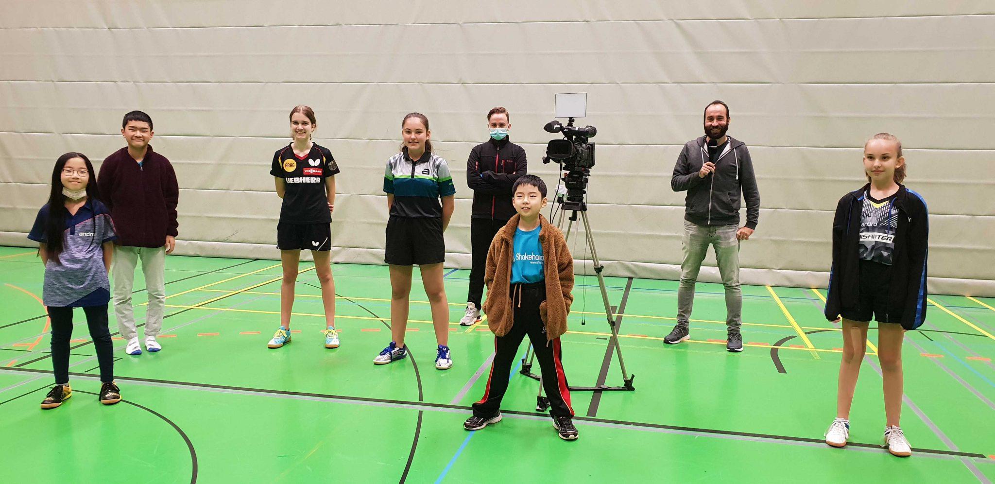 女子チーム(Bad Rodach)のテレビ取材と残念なニュース