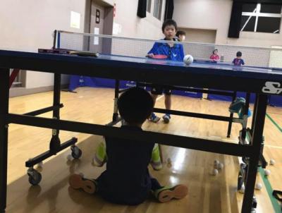 卓球全日本選手権のシングルスに、 部員全員が予選を通過