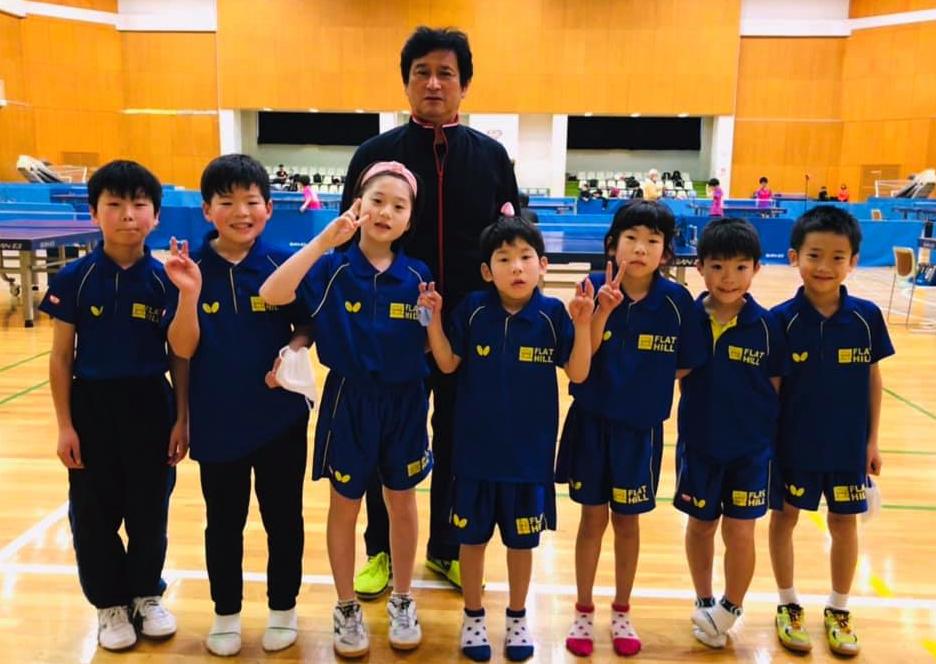 東京ホープス 4年生・3年生以下卓球大会