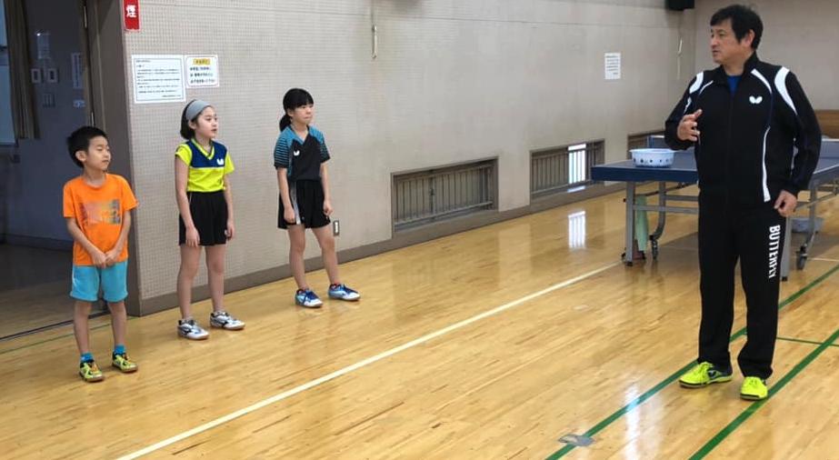 卓球基礎技術の反復練習 体力トレーニングに練習内容をシフト