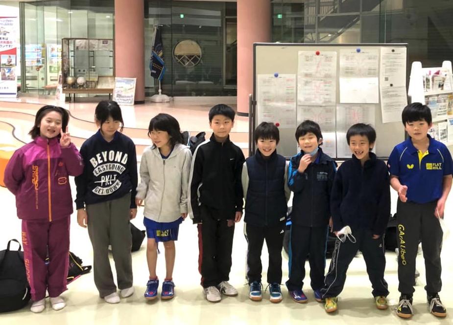 小学生と埼玉県富士見市で開催の VICTAS杯に行ってきました