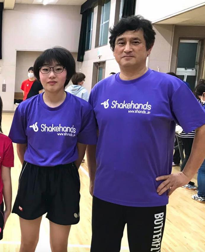団体戦は4位。 シングルスでもBest16に入り関東中学大会の出場権を獲得